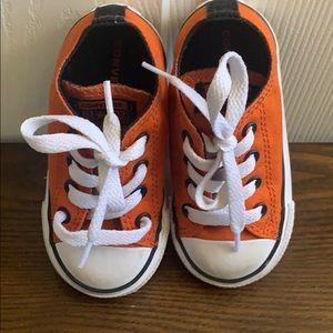 Orange Converse